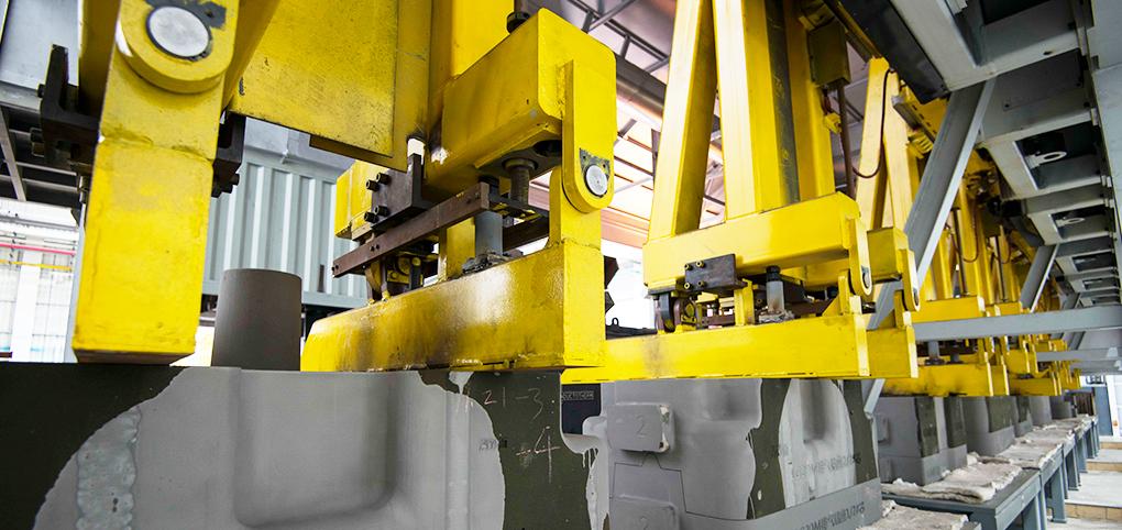 ballbet网页版登录入口环境智能机械铸造工厂