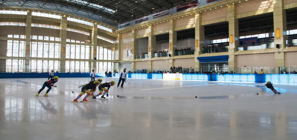 内蒙古突泉文体局国家滑冰馆项目