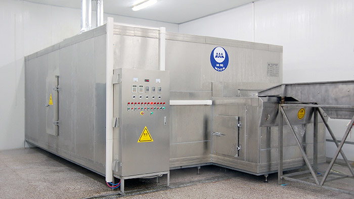 流态化速冻装置