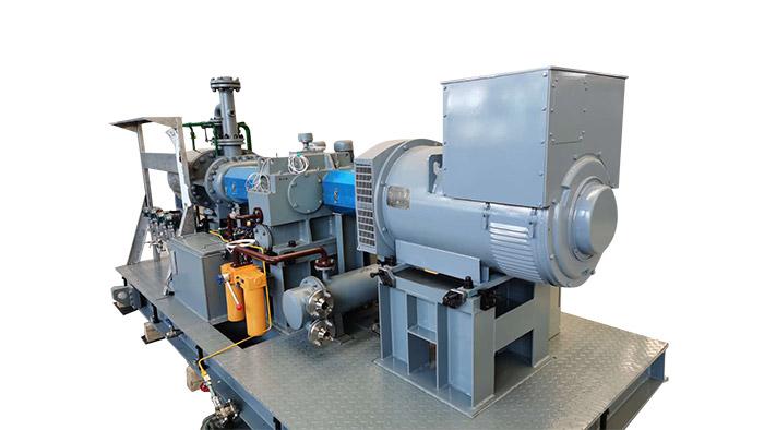 无油螺杆式水蒸气膨胀发电机组