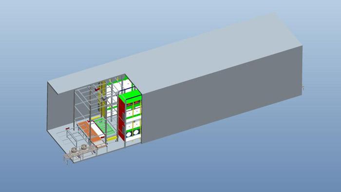 智能隧道速冻装置